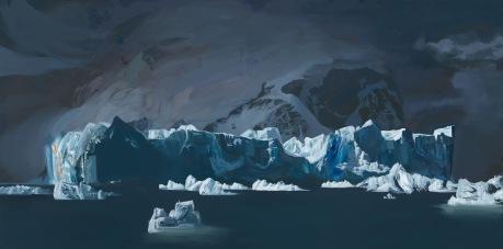Iceberg, Andvord Bay, Antarctica 36'X72