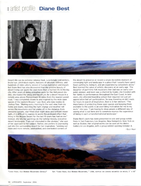 lifescapes article copy